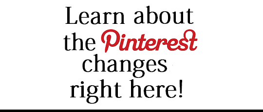 There's a New Pinterest Layout ~ See What Changed