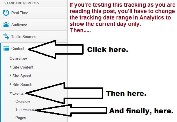 how to track outgoing clicks