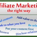 Affiliate Marketing The Right Way