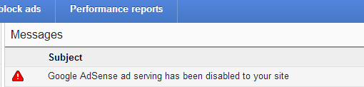 i got banned from adsense
