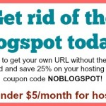 How to Get a URL Without Blogspot at the End
