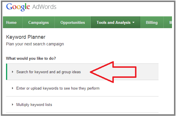 where did the google keyword tool go? more from your blog Keyword Search Tool google keyword planner