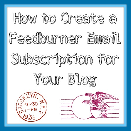 how to create an email subscription
