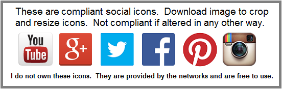 compliant social icons