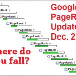 Google PageRank Update – December 2013
