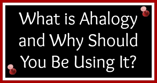 what is ahalogy