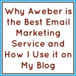 Why Aweber is the Best Email Marketing Service and How I Use it