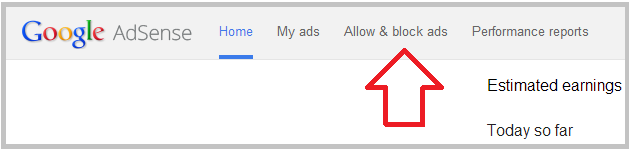 how to block specific ads in adsense