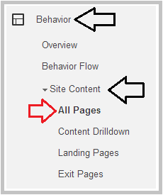 how to see where traffic is coming from single page