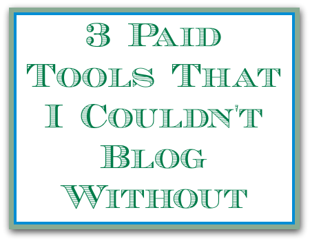 paid blogging tools