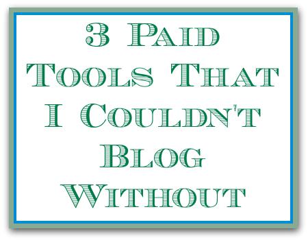 paid blogging tools