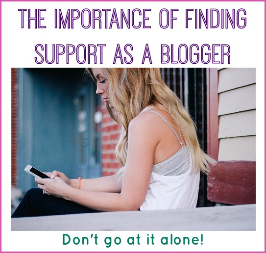 blogging support groups