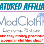 Featured Affiliate — ModCloth — Make Money Promoting a Popular Clothing Company