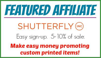 shutterfly affiliate program