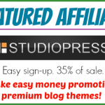 Featured Affiliate — StudioPress — Make Money Promoting Premium Blog Themes