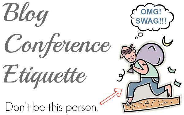 blog conference etiquette