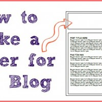 how to make a header for your blog