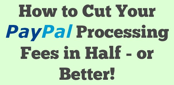 paypal processing fee