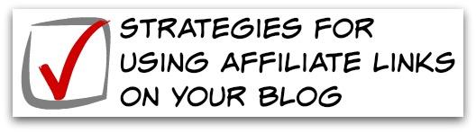 affiliate links strategies