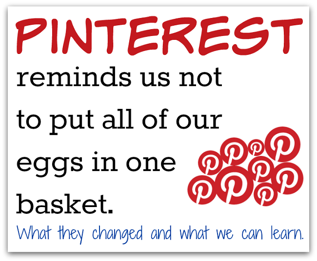 pinterest changes blog