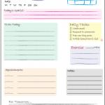 Blogging Tools ~ Daily Checklist Printable