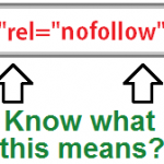 Basic SEO Tip ~ No Follow Links