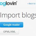 How to Transfer from Google Reader to Bloglovin'