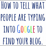 How to See What Searches People Use to Find Your Blog