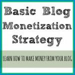 Basic Blog Monetization Strategy