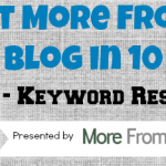 MFYB in 10 Days — Day 8 — Keyword Research