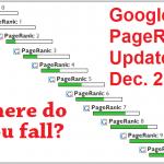 Google PageRank Update – December 2013